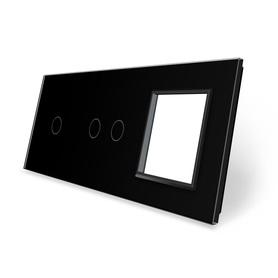 Panel szklany 1+2+G czarny WELAIK ®