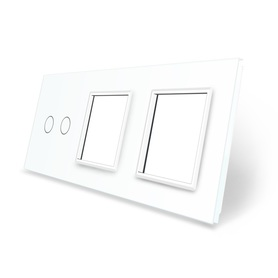 Panel szklany 2+G+G biały WELAIK ®
