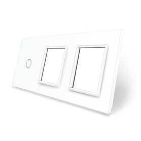 Panel szklany 1+G+G biały WELAIK ®