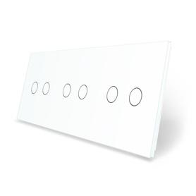 Panel szklany 2+2+2 biały WELAIK ®