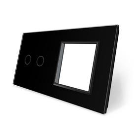 Panel szklany 2+G czarny WELAIK ®