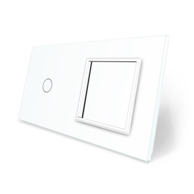 Panel szklany 1+G biały WELAIK ®