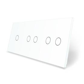 Panel szklany 1+2+2 biały WELAIK ®