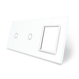 Panel szklany 1+1+G biały WELAIK ®