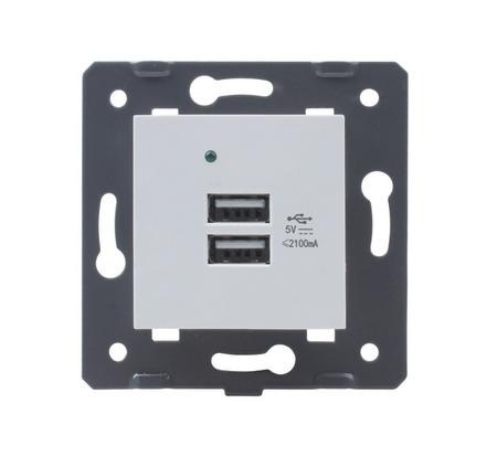 Podwójna ładowarka USB Welaik