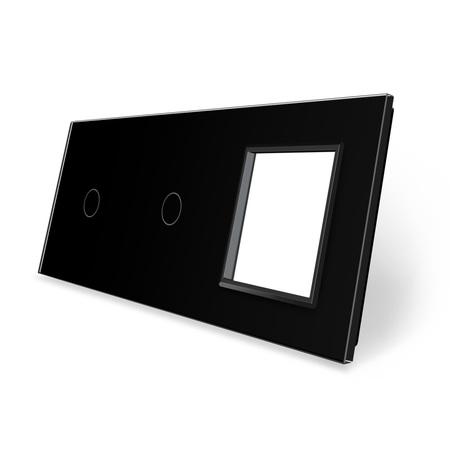 Panel szklany 1+1+G czarny WELAIK ® (1)
