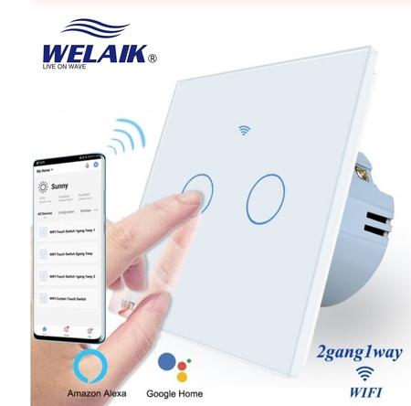 włączniki dotykowe smart Tuya welaik